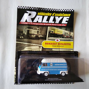 RALLYE 1/43 - véhicule assistance ALTAYA - ESTAFETTE team RENAULT