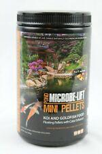 "Microbe-Lift Mini pellets Koi Goldfish Food Floating 12 oz for Fish under 4"" New"