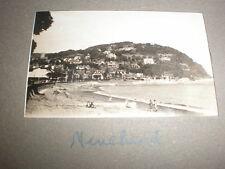 Old amateur photograph Minehead panorama c1930s Ref 5abc8