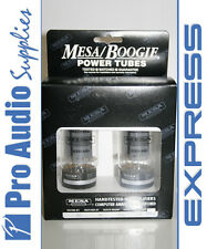 Mesa Boogie STR440 6L6 Valves Tubes Matched Pair NIB Tested