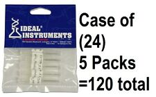 "(24) Ideal Instruments 9326 5 packs 16 gauge x 1"" Poly Hub Livestock Needles"