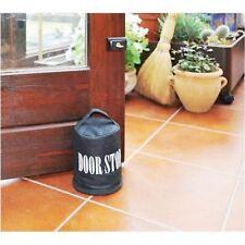 Türstopper Halter selbst befüllen Griff Home Türen Block schwarz BLOCK schwarz