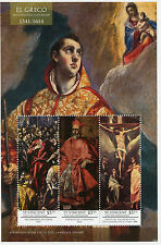 SAINT Vincent & Grenadine 2014 MNH EL GRECO 400th Memorial ANNIV 3V M / S i ARTE