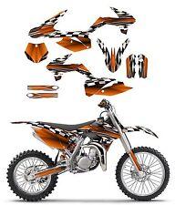 2013 - 2017 KTM SX85 graphics decal kit | free custom service #2500 orange