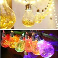 Party Wedding LED Decorative Lights Transparent Gold-wire Bulb Tree Lights