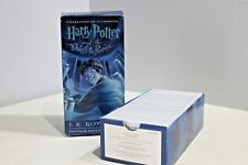 Harry Potter and The Order of the Phoenix Audiobook 17 Cassettes Tapes Rowling