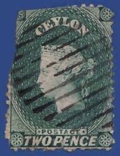 Cats Victorian (1840-1901) Ceylon Stamps