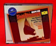 DEUTSCHE GRAMMAPHON:   VERDI - SIMON  BOCCANEGRA - ABBADO /CAPPUCCILLI  2 CD SET