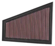 K&N Air Filter Element 33-2393 (Performance Replacement Panel Air Filter)