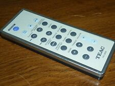 Genuine TEAC OEM Remote Control for CD/MP3 micro component MC-DX20