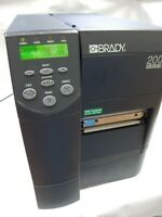 Brady 200 MVP USA MADE Parallel Serial Direct Thermal Label Barcode Printer