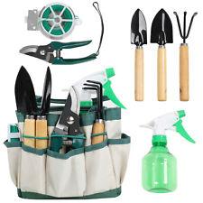 7 Piece Succulent Tool Set w/ Tote Bag Transplanting Garden Tool w/ Wood Handle