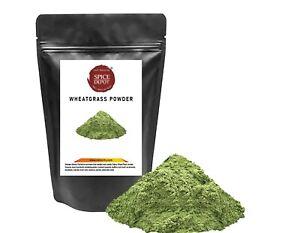 WHEATGRASS POWDER pszenica zielona 100% NATURAL FREE DELIVERY U.K
