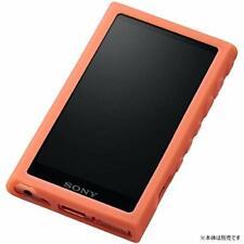 SONY WALKMAN Genuine Silicon Case CKM-NWA100 Orange for NW-A100 Series Tracking