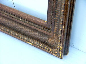 "FRAME BRONZE ORNATE COMPOSITE FITS 24"" x 36"""