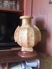 Curiosité / Curiosity. Lampe Ancienne En Peau - Camel Skin Lamp, Circa 1910's