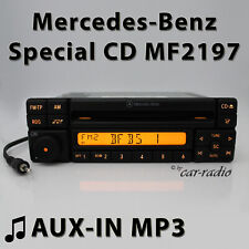 Mercedes Special MF2197 Aux-In MP3 Car Radio Jack Plug RDS CD Radio Cd-R