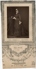 Lemercier, Paris, artiste, Zina Dalti Vintage Print, vintage photoglyptie Ph