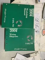 2004 Ford F-650, F-750 Workshop Repair Manual+ Wiring Diagrams Book OEM