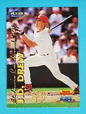 1999 Sports Illustrated For Kids Fleer Tradition J.D. Drew Cardinals #7