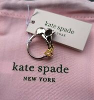 Kate Spade Year of The Rat Mouse and Cheese Ring 6,7