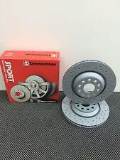 Zimmermann Sport Bremsscheiben gelocht COAT Z Renault Twingo 2 1.2 Turbo VA