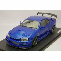 ignition model 1/18 NISSAN SKYLINE Nismo R34 GT-R R-tune Bayside Blue IG1830