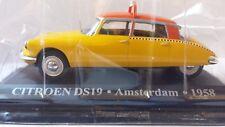 1/43TAX050B CITROEN DS19, AMSTERDAM 1958, AMARILLO