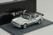 1982 Porsche 930 Turbo targa B&B Moonracer white weiss metallic 1:43 Neo