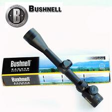 Bushnell Rifle Scope 3-9x40 RED Green Illuminated Reticle Riflescope Sight HD US