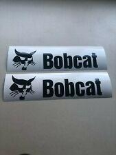 Bobcat 12 Set Of 2 Skid Steer Multi Color Vinyl Decal Sticker