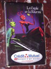 Jeu 32 cartes Cigale Fourmi Jean de La FONTAINE Crédit Mutuel Héron Mérignac 33
