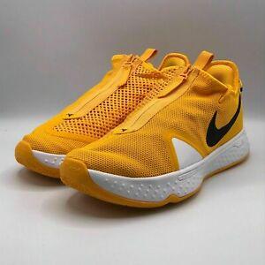 Nike Mens 9.5 PG 4 TB Promo University Gold Basketball Sneakers Shoes CW4134-702