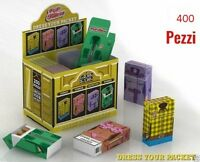 400 Copri Pacchetto di Sigarette POP FILTERS in Cartoncino porta pacchetto