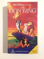 THE LION KING - WALT DISNEY CLASSICS - VHS PAL