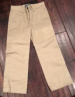 Polo Ralph Lauren Boys Khaki Pants Chino, Adj Waist, Size 4, NWOT
