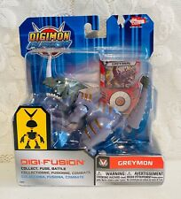2013 Bandai Digimon Fusion Greymon Digi-Fusion Action Figure Fuse Battle NEW