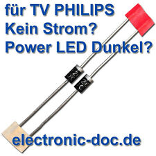 2x sb260 (sr260) Diodo per Alimentatore BOARD LCD-TV PHILIPS 42pfl7404h/12 d907, d911