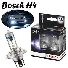 2x Bosch H4 60/55W 12V P43t 1987301106 Gigalight Plus 120 Super Weiß Auto Lampe