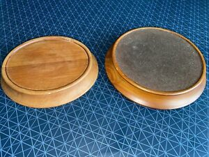 2 X Wooden Plinths