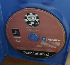 World Series Poker 2008 - (disc only) PLAYSTATION 2 PS2  - FREE POST