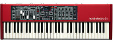 Nord Electro 5D SW61  61-Key Keyboard With Drawbars  5d 4D 3 61 NEW