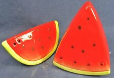 Water Melon slices Ceramic Salt & Pepper Set collectable Tableware