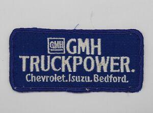 GMH TruckPower Chevrolet Isuzu Bedford Embroidered Patch