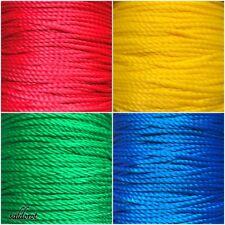 Multi Purpose String 0,5m-10m  - Strong Bright Colours Polypropylene Silk