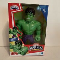 "Playschool Hero Marvel Super Hero Adventures ""HULK"" Action Figure Mega Mighties"