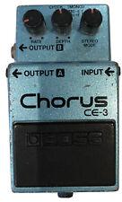 More details for boss ce-3 chorus guitar effect pedal mij made in japan black label #1983 vintage