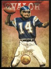 Dan Fouts 2012 Topps Valor Red SP 1/1 Chargers