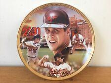 1995 MLB Baseball Bradford Exchange Cal Ripken Jr Commemorative Plate #5204 B