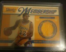 2010-11 Panini Classics Membership game used Magic Johnson NBA basketball card!